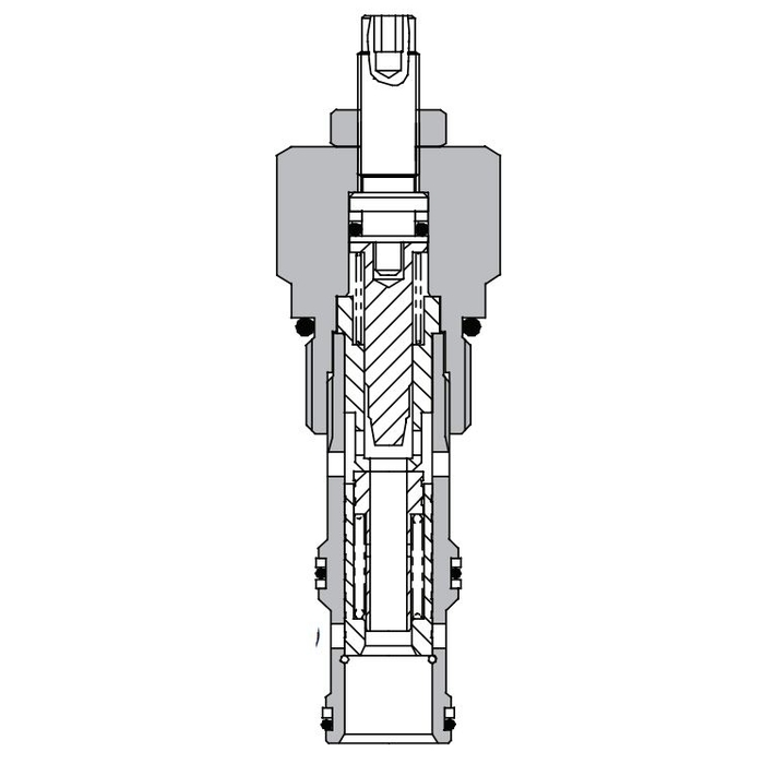 Eaton Vickers 2CFP60 Screw-in Flow Regulator Cartridge Valve