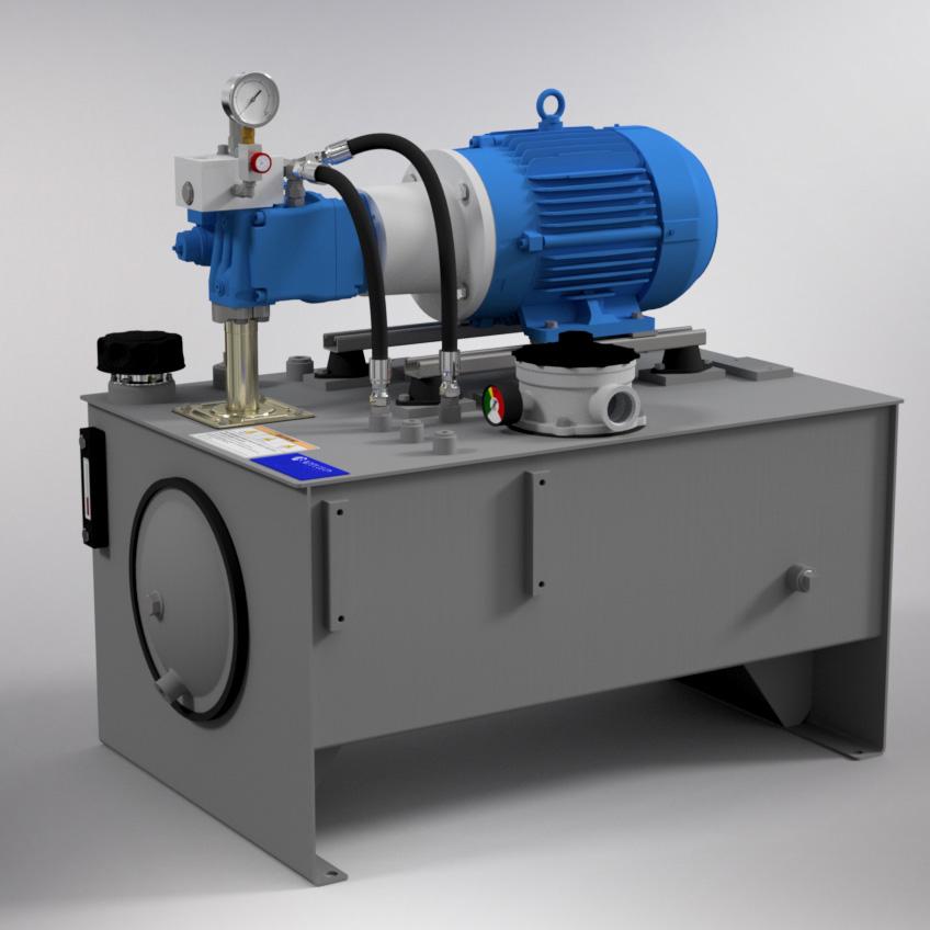 10 HP Medium-Pressure Hydraulic Power Unit