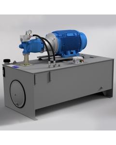60 HP Medium-Pressure Hydraulic Power Unit