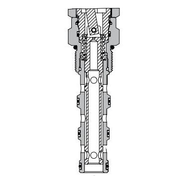 Eaton Vickers MLV9-12-B Screw-in Directional Cartridge Valve