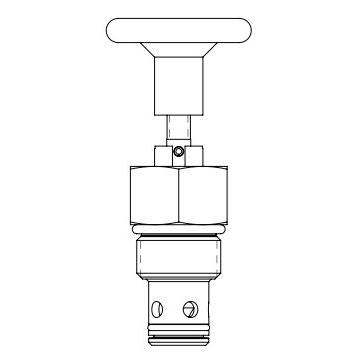 Eaton Vickers MPV3-10 Screw-in Manual Pull Cartridge Valve