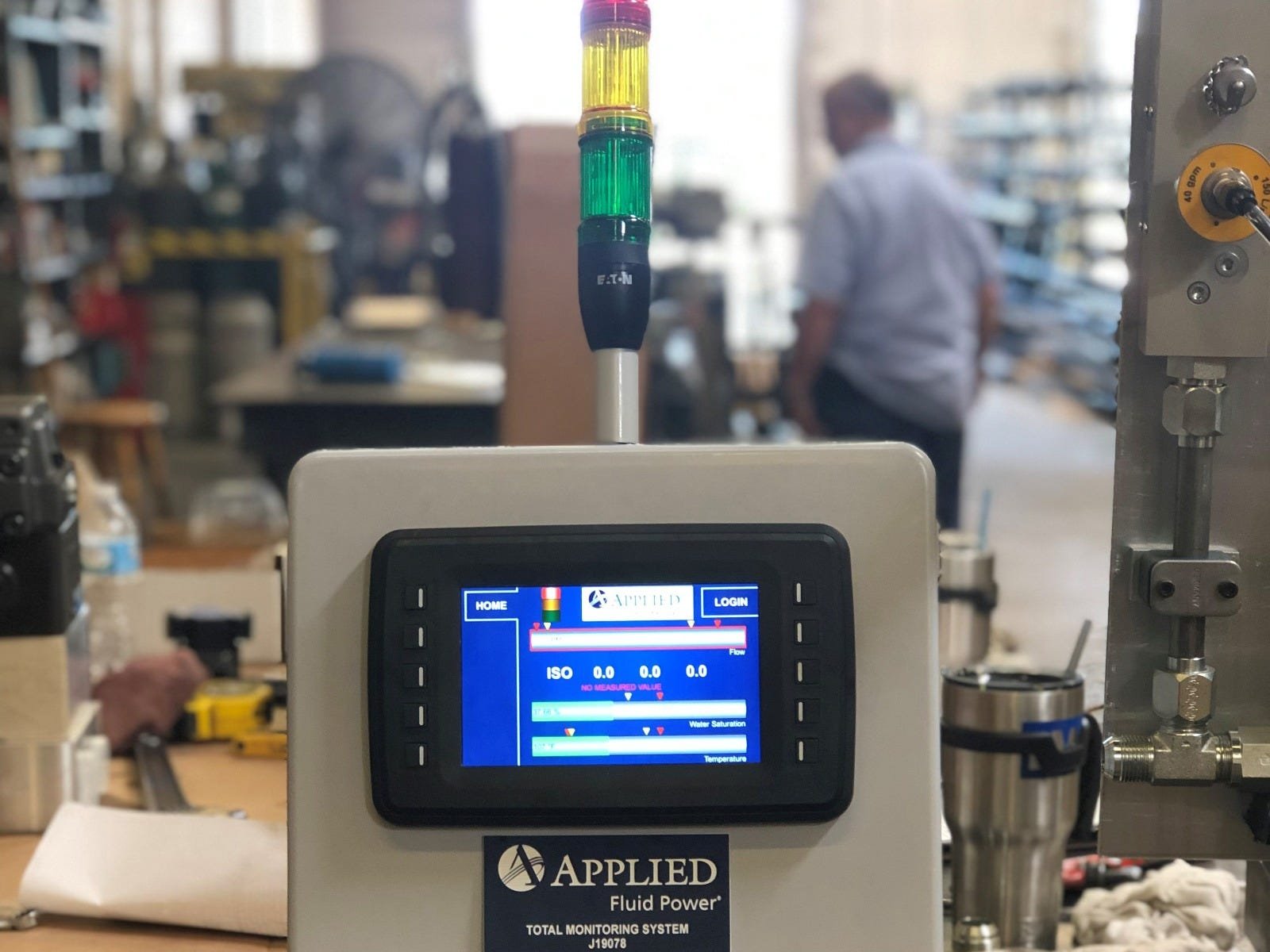 Design with Safety in Mind - Applied Fluid Power Total Monitoring System