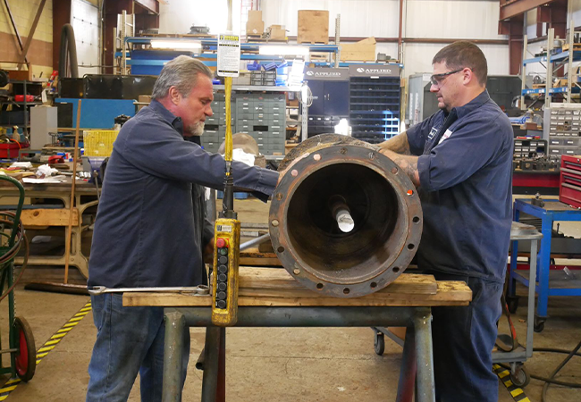EXTENSIVE PUMP REPAIR & FLUID HANDLING EQUIPMENT REPAIR & SERVICES THROUGHOUT THE MIDWEST